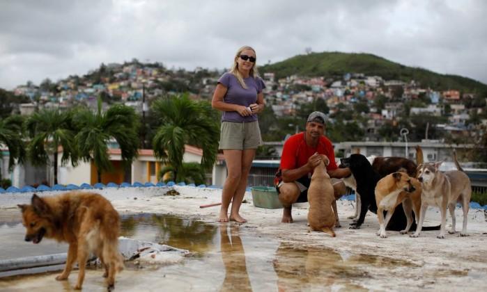 Familiares de Jennifer Lopez somem após passagem de furacão em Porto Rico