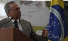 O presidente Michel Temer anunciou aumento da verba para o Programa Bolsa Família Foto: Divulgação/Presidência