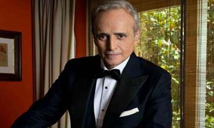 O tenor catalão Josep Carreras Foto: .
