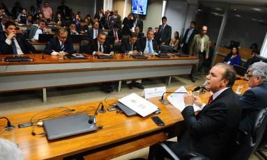 CPI da JBS vai investigar acordo de delação premiada dos irmãos Joesley e Wesley Batista Foto: Agência Senado 06/09/2017