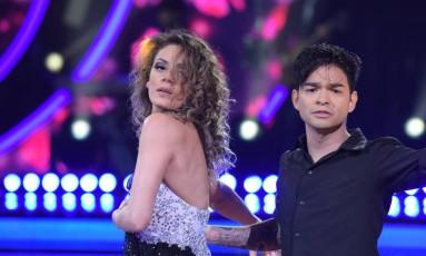 Yudi e Bárbara Foto: Divulgação/Record