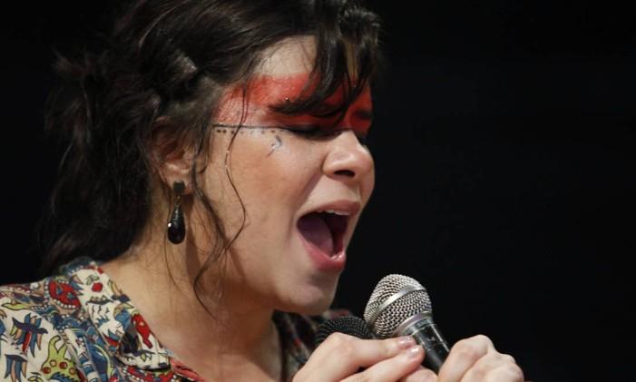Show Foto: Mônica Imbuzeiro / O Globo
