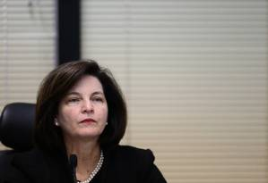A procuradora-geral da República, Raquel Dodge Foto: Jorge William / Agência O Globo / 26-9-17