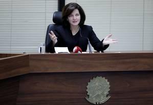 Rescisão não invalida provas de delação, diz Raquel Dodge Foto: UESLEI MARCELINO / REUTERS