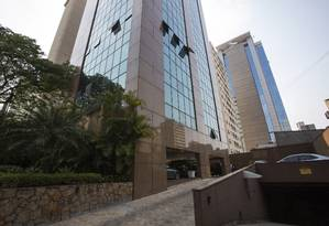 Do prédio onde fica o escritório de Temer em São Paulo se avista o de Funaro Foto: Edilson Dantas / Agência O Globo