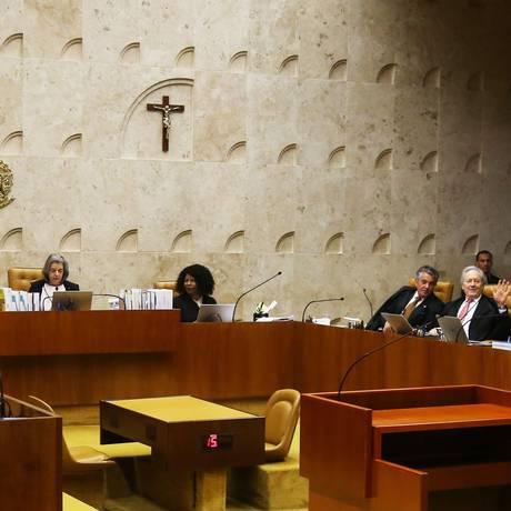 Plenário já teve duas sessões sobre o tema Foto: Ailton de Freitas / Agência O Globo