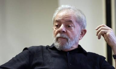 O ex-presidente Luiz Inácio Lula da Silva Foto: Edilson Dantas / Agência O Globo / 21-9-17