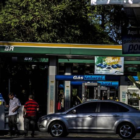 Posto BR no Rio de Janeiro Foto: Dado Galdieri/Bloomberg News/6-4-2016