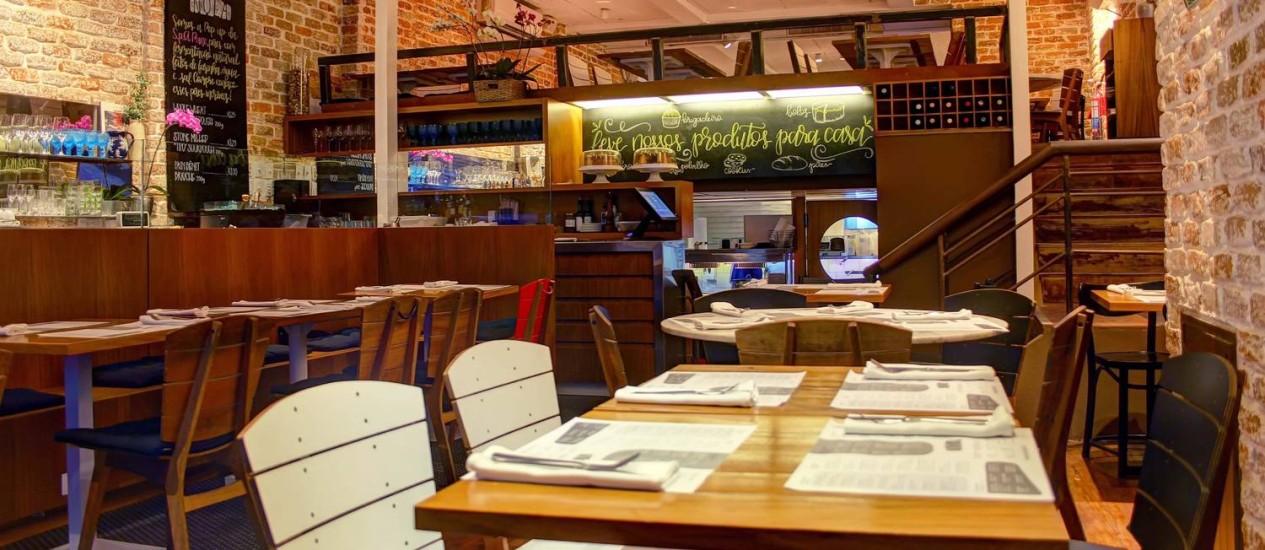 Nola, novo restaurante da Dias Ferreira Foto: Thiaog Sodré / Divulgação