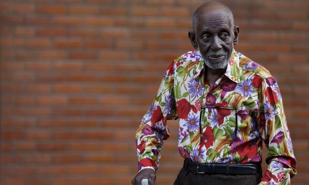 Nelson Sargento: aos 93 anos, uma agenda frenética Foto: Agência O Globo / Gustavo Miranda