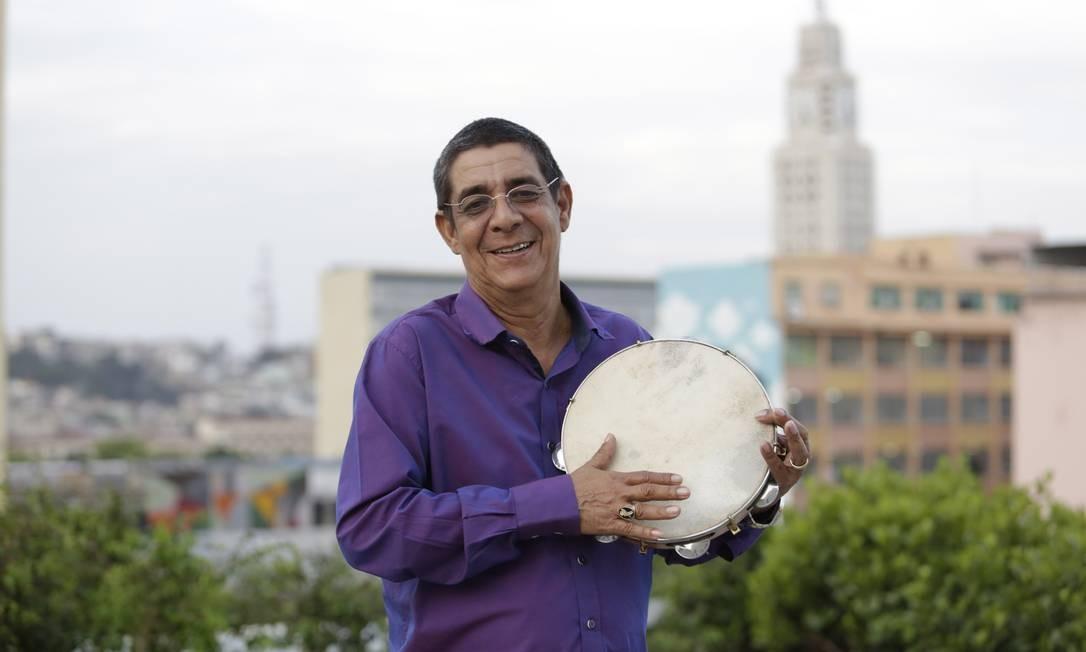 Zeca Pagodinho comanda, no JOckey, roda em homenagem a Wilson das Neves Foto: Fábio Guimarães / Agência O Globo / Fábio Guimarães