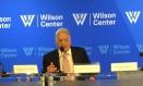 Ex-presidente fernando henrique Cardoso durante palestra em Washington - 28/09/2017 Foto: Henrique Gomes Batista