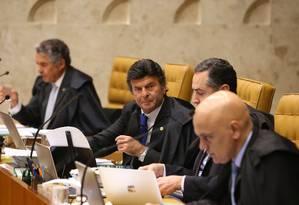 Supremo pode ampliar aplicação da Lei da Ficha Limpa Foto: Ailton de Freitas / Agência O Globo