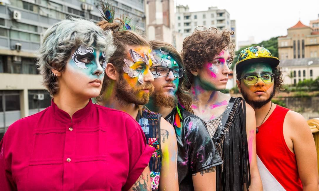 A banda Francisco, el Hombre volta ao Circo Voador três meses após estreia Foto: Divulgação/Rodrigo Gianesi