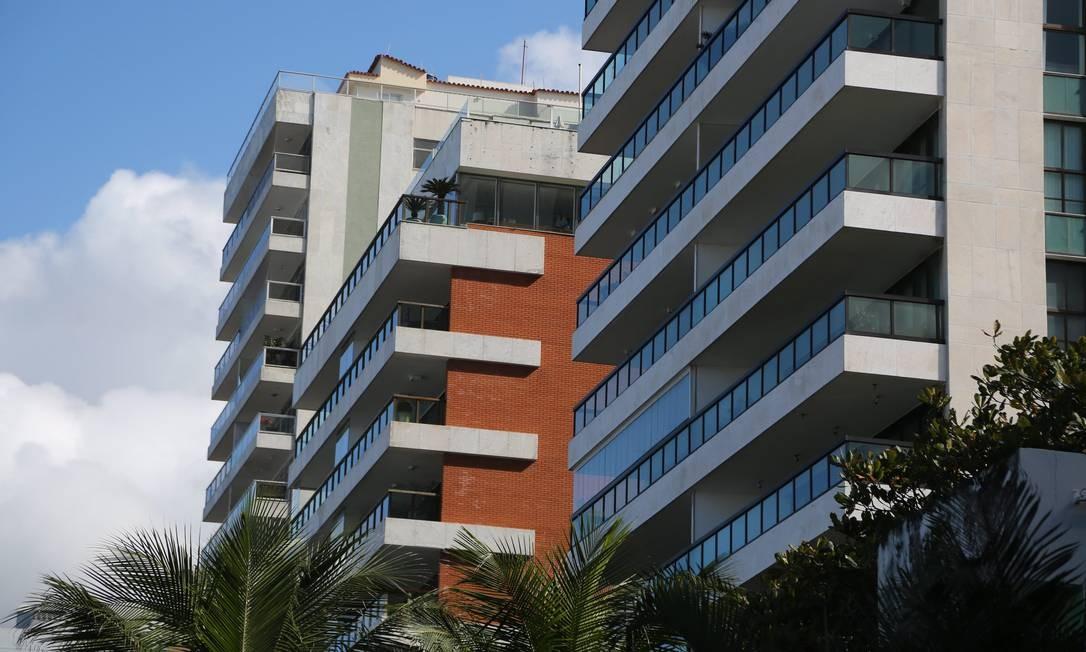 Prédios em Ipanema, na Zona Sul do Rio Foto: Custódio Coimbra - 07/07/2017 / Agência O Globo