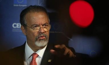 Ministro da Defesa,Raul Jungmann Foto: Custódio Coimbra / Agência O Globo