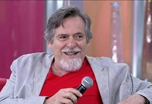Ator José de Abreu expressou indignação por causa de nota publicada pelo PT Foto: Gshow