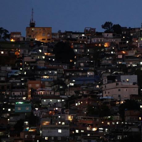 A favela da Rocinha, cenário da guerra entre traficantes e policiais nas últimas duas semanas Foto: BRUNO KELLY / REUTERS/27-9-2017