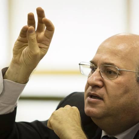 Ilan Goldfajn, presidente do Banco Central Foto: Fernando Lemos / Agência O Globo
