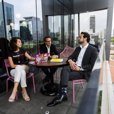 Coworking é uma evolução da cultura de trabalho e também da necessidade atual Foto: Edilson Dantas / Agência O Globo