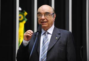 Bonifácio de Andrada, relator da segunda denúncia contra o presidente Michel Temer na Comissão de Constituição e Justiça (CCJ) Foto: Agência Câmara