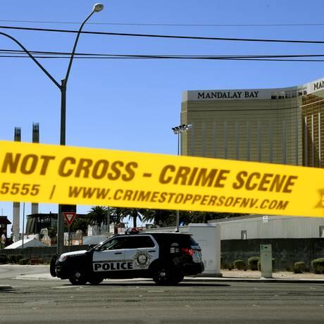 Polícia isola local de festival que foi alvo de ataque Foto: MARK RALSTON / AFP