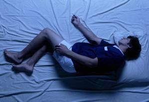 09.12.2003 - Fabio Seixo - JF - Posições no sono. Foto: Fábio Seixo / Pesquisadores identificaram atividade de dendritos e fluxos de fusos durante o sono