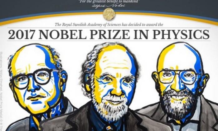 Três cientistas galardoados com Nobel da Física pela observação das ondas gravitacionais