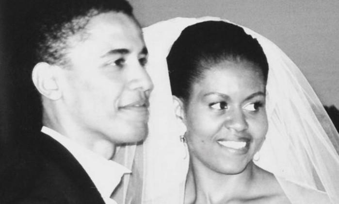 Michelle Obama sobre aniversário de casamento: