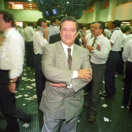 """Época de prestígio. Luiz Fernando Levy: em meados dos anos 1990, a """"Gazeta Mercantil"""" chegou a ter até uma edição para a América Latina Foto: arquivo"""
