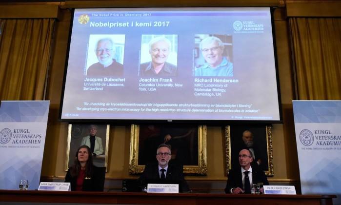 Nobel de Química premia criomicroscopia eletrônica