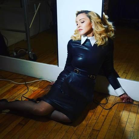 Madonna Foto: Instagram / Reprodução