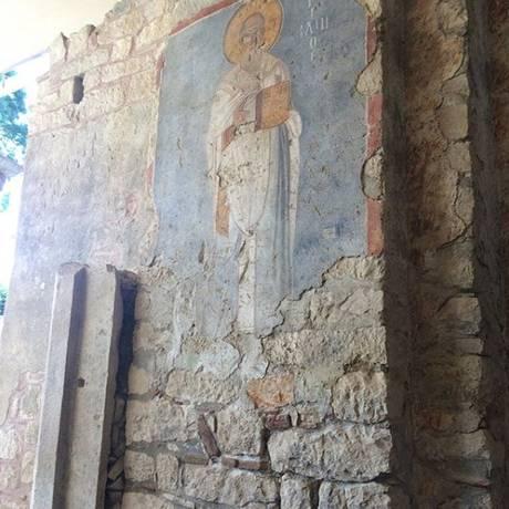 Igreja de São Nicolau em Antália, na Turquia, onde o santo foi enterrado Foto: Instagram/Reprodução