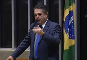 Discurso de João Rodrigues (PSD-SC) gerou bate-boca Foto: Reprodução