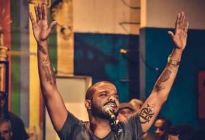 Arlindinho promete um show com fortes emoções Foto: Divulgação