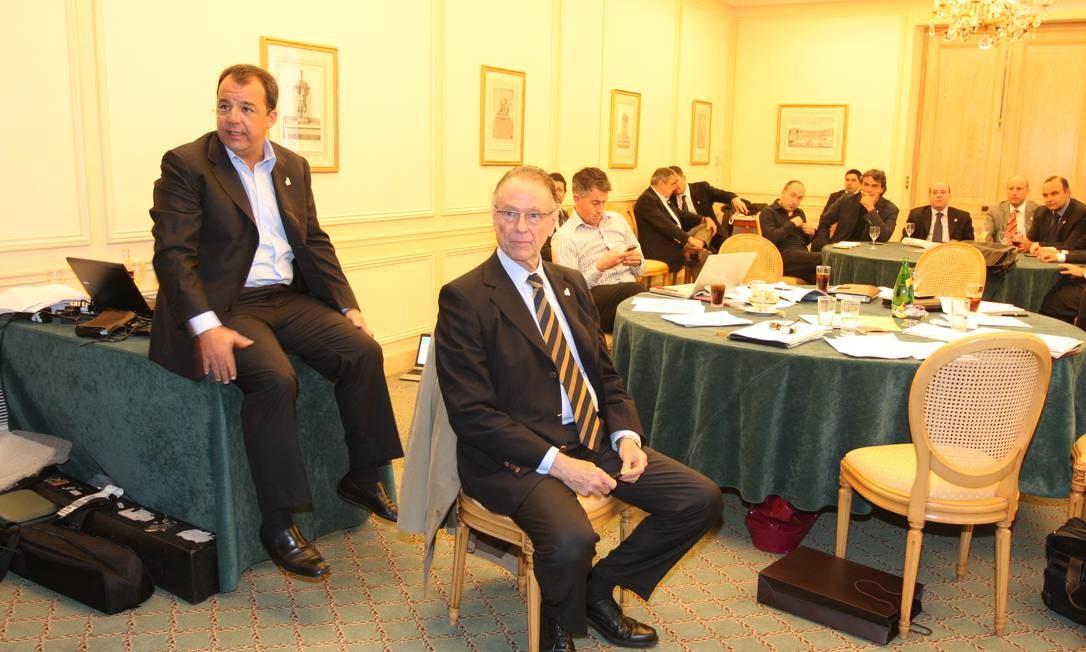 Nesta reunião, suspeitam os investigadores, Nuzman e Cabral já tinham o sinal verde de que ao menos um voto seria revertido entre jurados do Comitê Olímpico Internacional (COI): Lamine Diack Foto: Reprodução / Reprodução