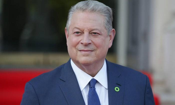O ex-vice-presidente dos EUA Al Gore Foto: DANIEL LEAL-OLIVAS / AFP