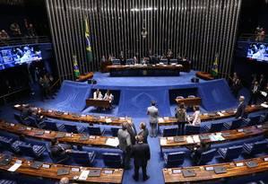 Senado conclui votação da reforma política Foto: Ailton de Freitas / Agência O Globo