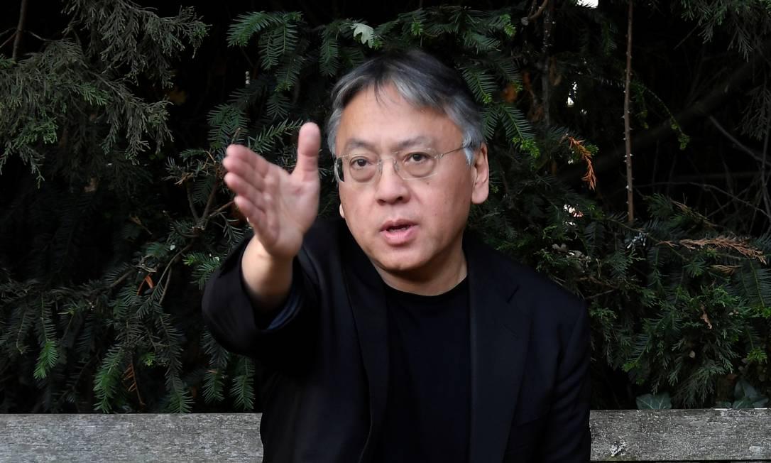 Kazuo Ishiguro vencedor do Prêmio Nobel de Literatura em 2017 Foto: TOBY MELVILLE / REUTERS