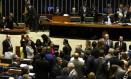 Plenário da Câmara dos Deputados durante discussão e votação de pontos da reforma política - 04/10/2017 Foto: Givaldo Barbosa / Agência O Globo