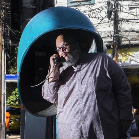 O cantor Ed Motta Foto: Luan Lopez / Divulgação
