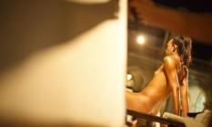 Aula aberta de modelo vivo com a presença da transgênero Naomi Savage, de 35, do curso de modelo vivo do artista Gianguido Bonfati, na Escola de Artes Visuais do Parque Lage Foto: Daniel Marenco / Agência O Globo
