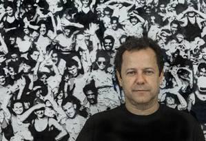 Vik Muniz: pintor é um dos artistas que gravaram vídeo para a campanha '#342arte' Foto: Fernando Lemos