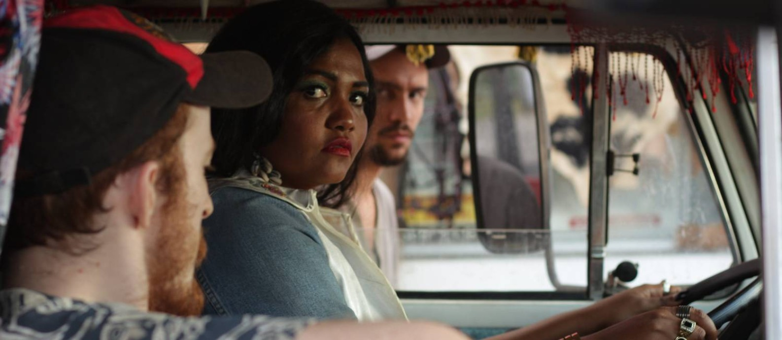 Gaby Amarantos em cena do longa 'Serial Kelly' Foto: Lucas Sá / Divulgação