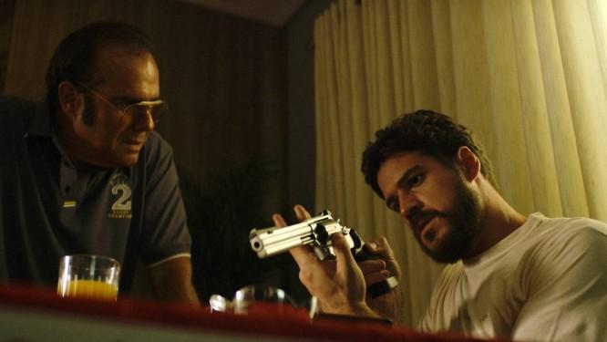 Cena de 'O nome da morte', filme selecionado para a Première Brasil, no Festival do Rio Foto: Divulgação