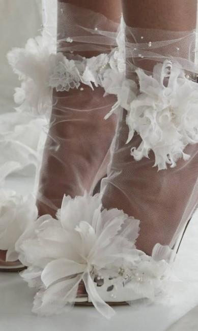 Marchesa investiu no tule até nos sapatos Bebeto Matthews / AP