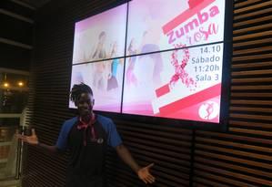 A academia Cia. Athletica vai oferecer aula de Zumba com Dudu Neves no dia 19 Foto: Júlia Amin