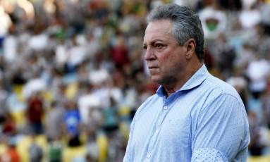 Abel Braga, técnico do Fluminense Foto: Mailson Santana/Fluminense/Divulgação