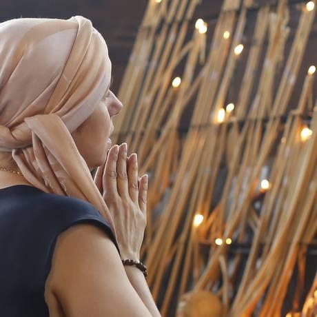Fieis celebram os 300 anos de Nossa Senhora Aparecida Foto: Edilson Dantas / Agência O Globo