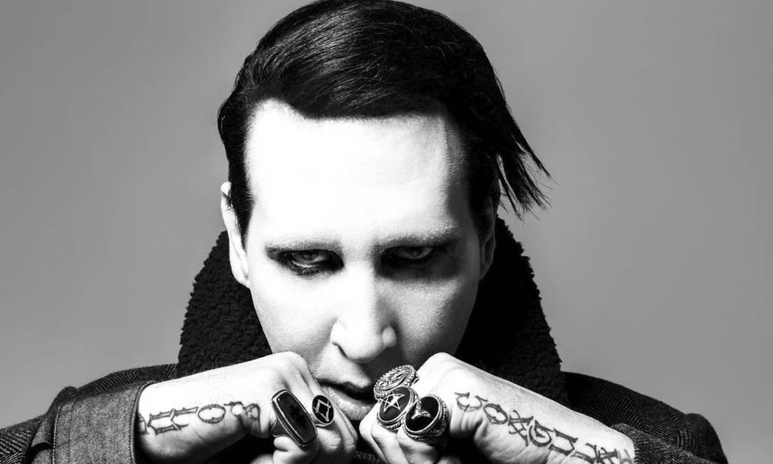 """Satã é 10. O adolescente Brian Warner concebeu o trocadilho """"Say10"""", usado por Marilyn Manson aos 48 anos Foto: Divulgação"""